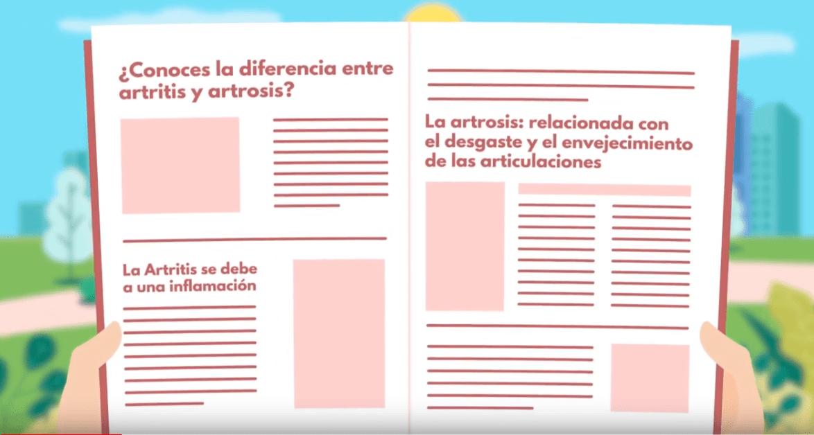 Diferencia entre artrosis y artritis